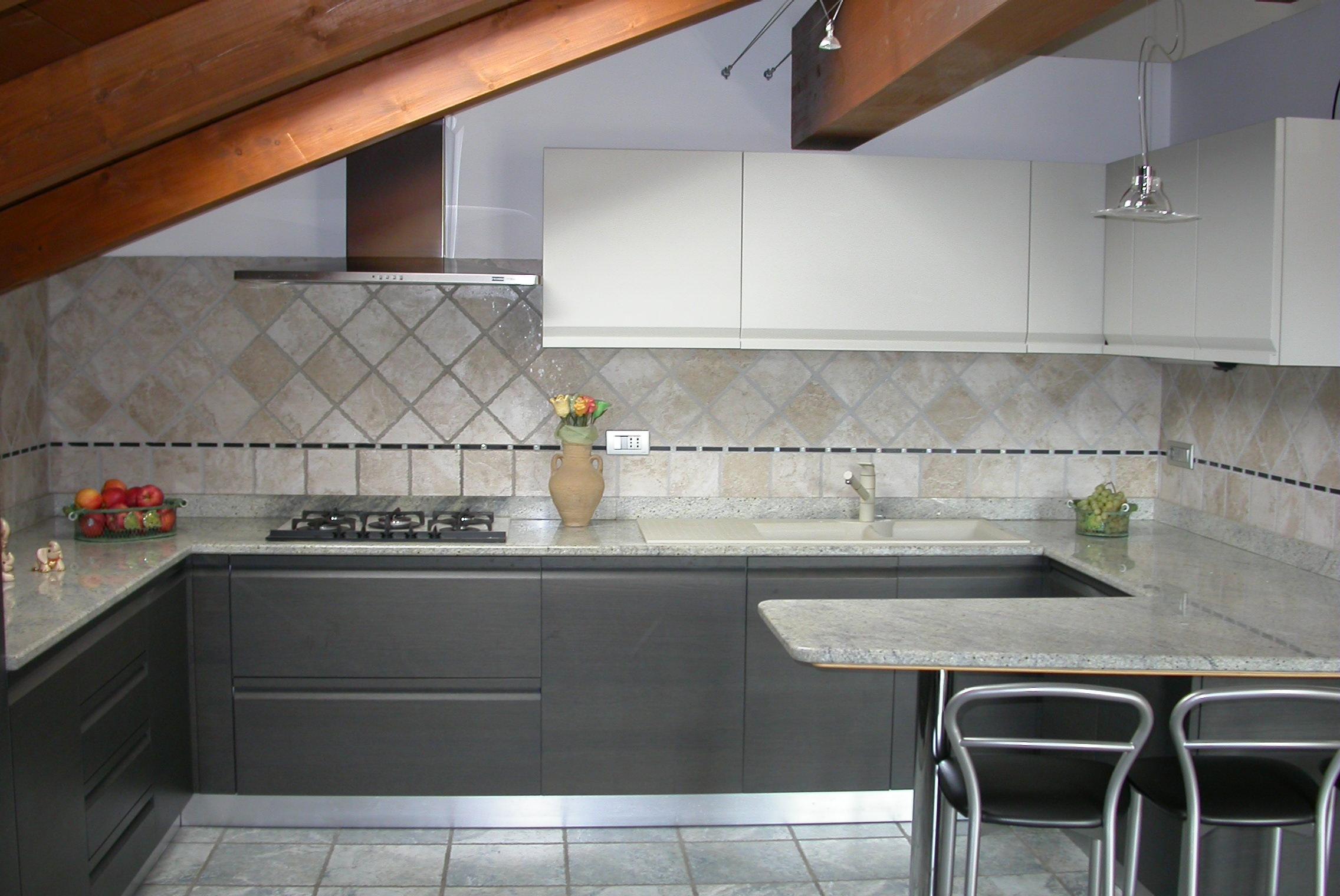 Piastrelle cucina in muratura cucine aran cucine berloni