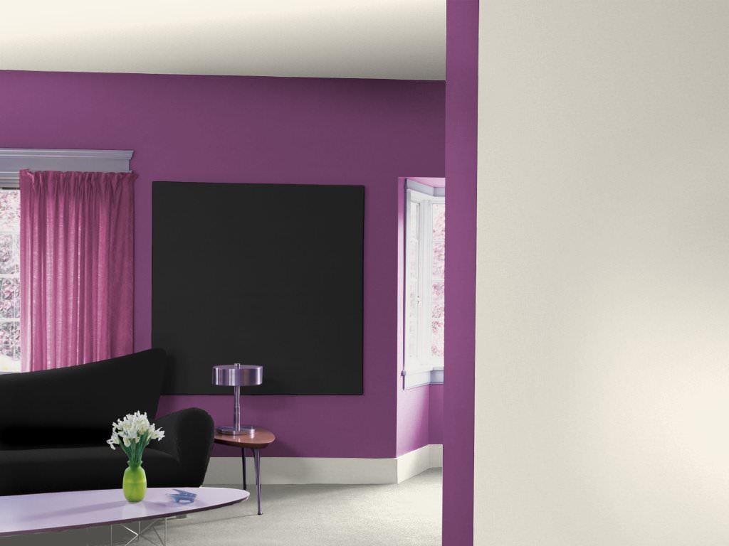 Casa e cromoterapia vivere secondo i colori il lilla for Pareti colorate soggiorno esempi