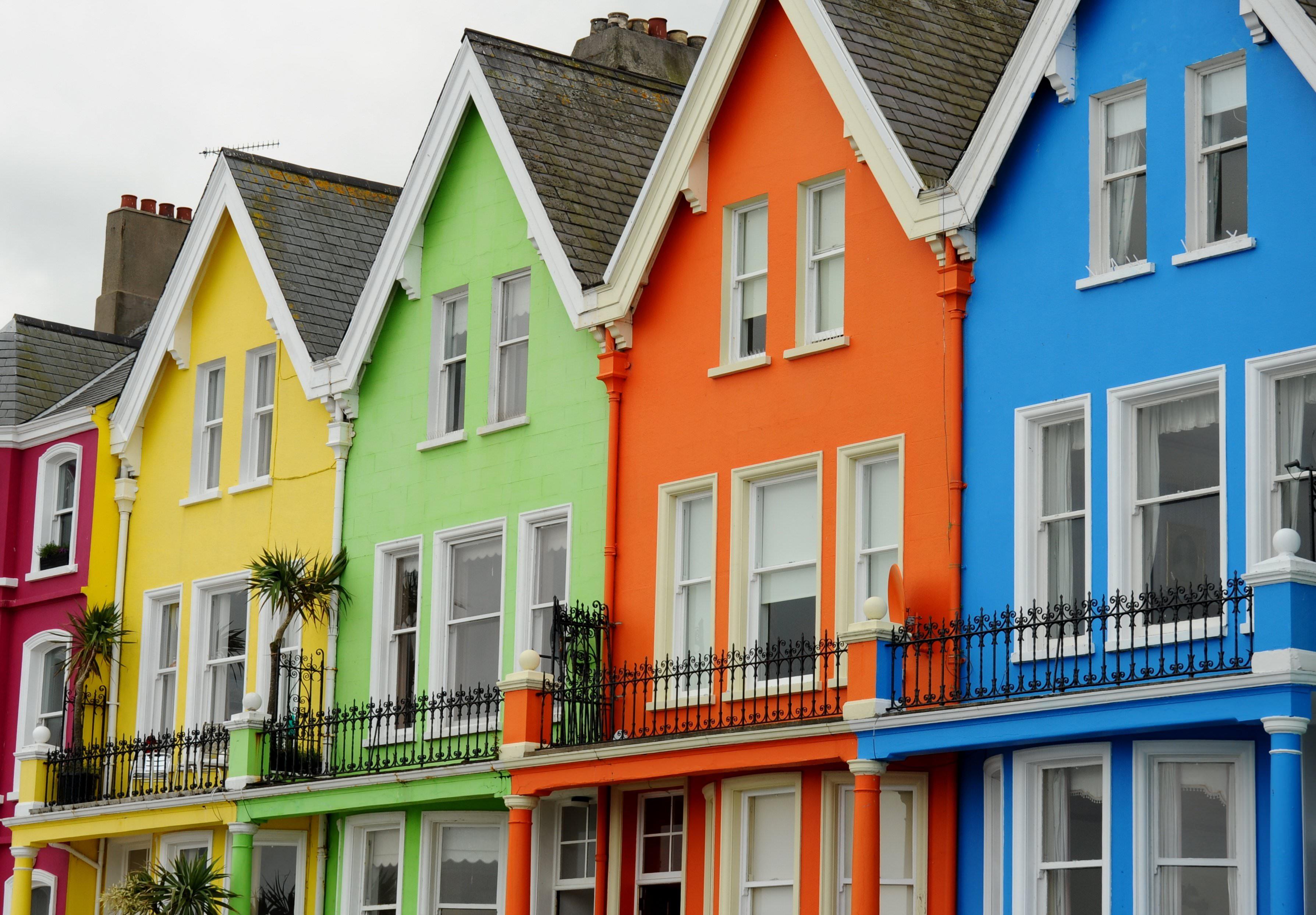 Tutti i colori nella nostra casa vogliacasa for Colori case moderne