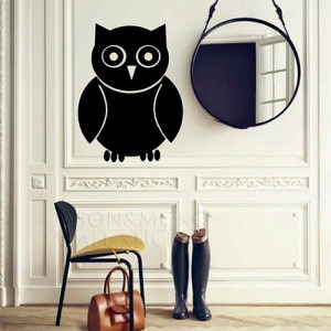 Large-font-b-Chalkboard-b-font-Owl-Wall-Decal-Home-Art-Decor-Decal-for-home-Vinyl