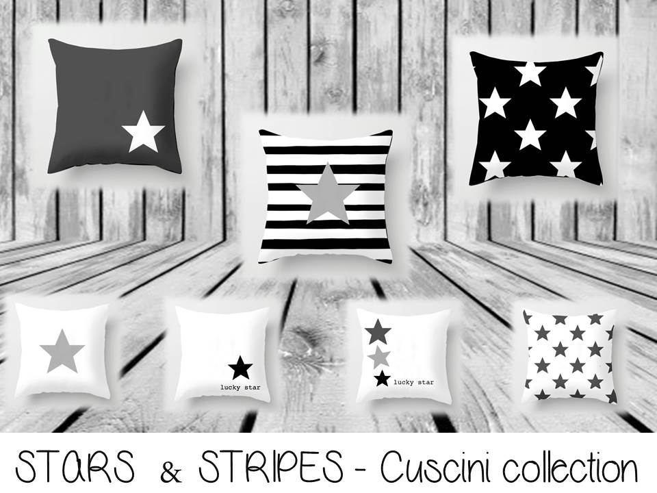 STARS  & STRIPES - Cuscini collection