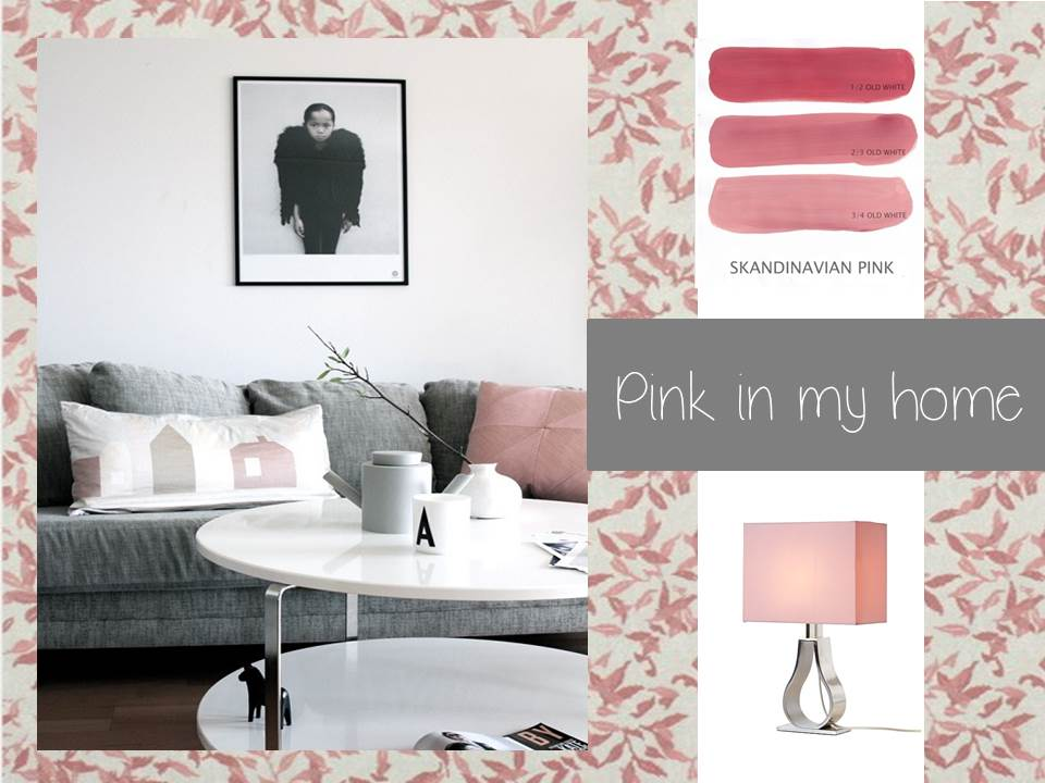 Pink in my home