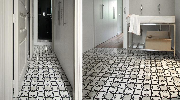 Pavimento Bianco E Grigio : Pavimento a scacchi bianco e grigio: zem enrico marmi listino prezzi