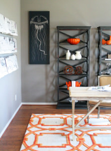 gray-black-orange-home-office-room