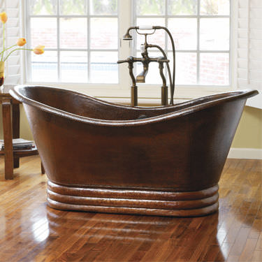 Materiali il rame vogliacasa - Vasche da bagno ovali ...