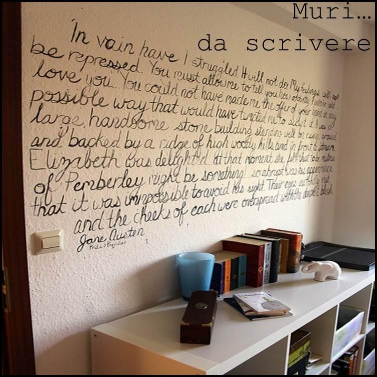 Forum avete delle immagini di decorazioni - Scritte muri casa ...