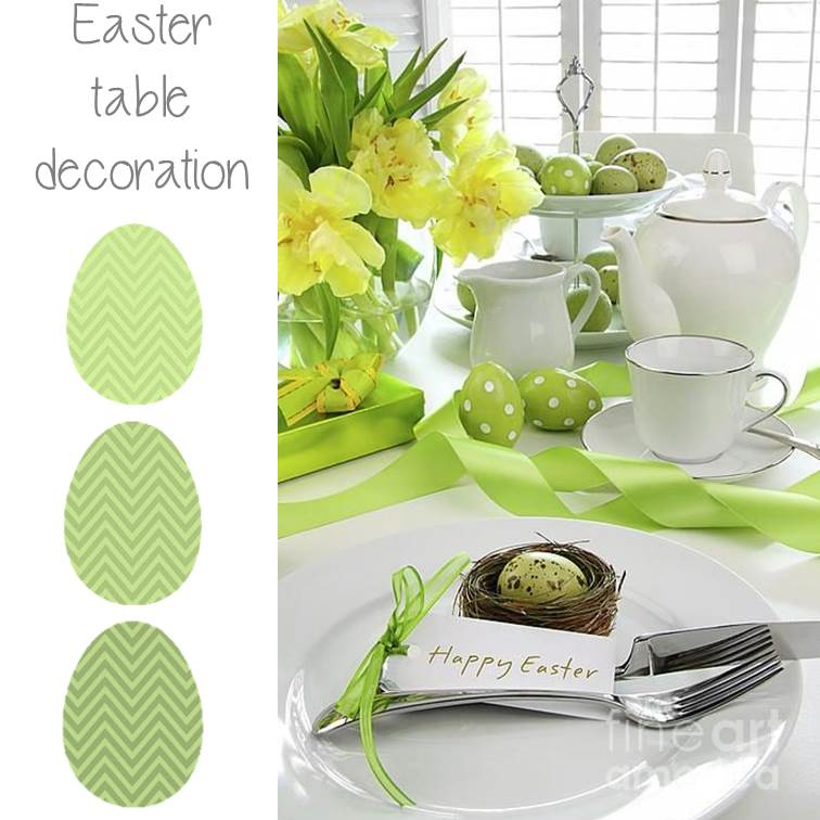 easter table1