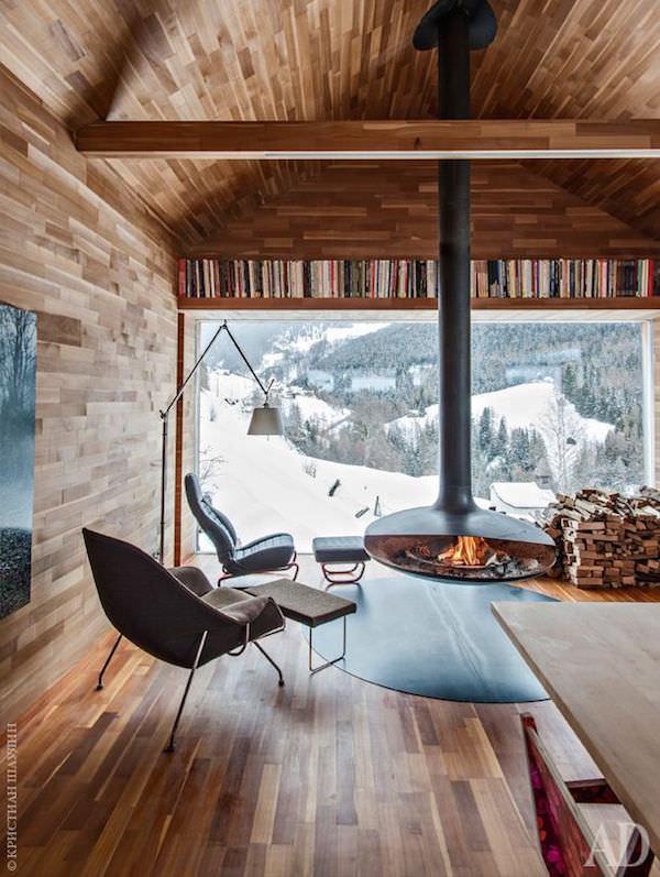 Voglia di montagna chalet in tirolo vogliacasavogliacasa for Asheville nc cabin vista sulle montagne