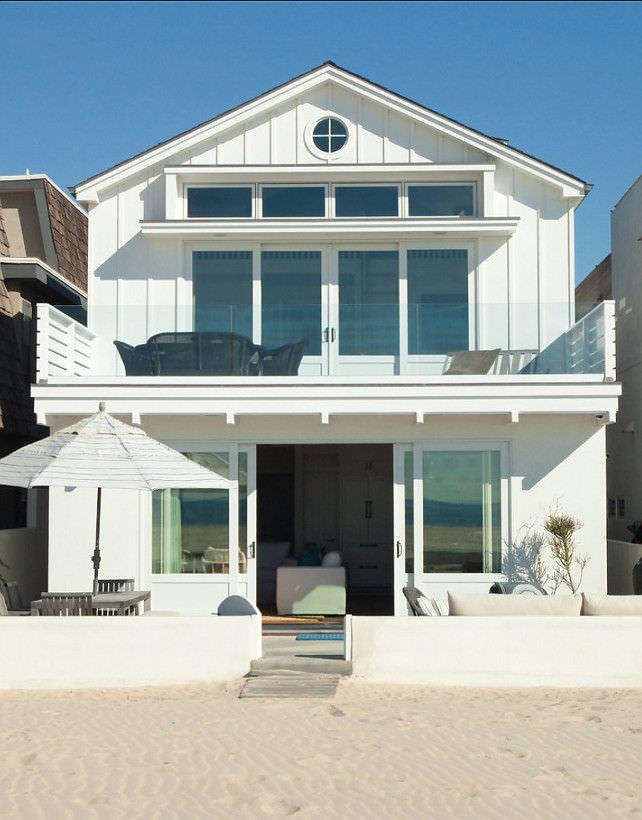 Una casa sulla spiaggia: aprire la porta e ritrovarsi direttamente al mare!