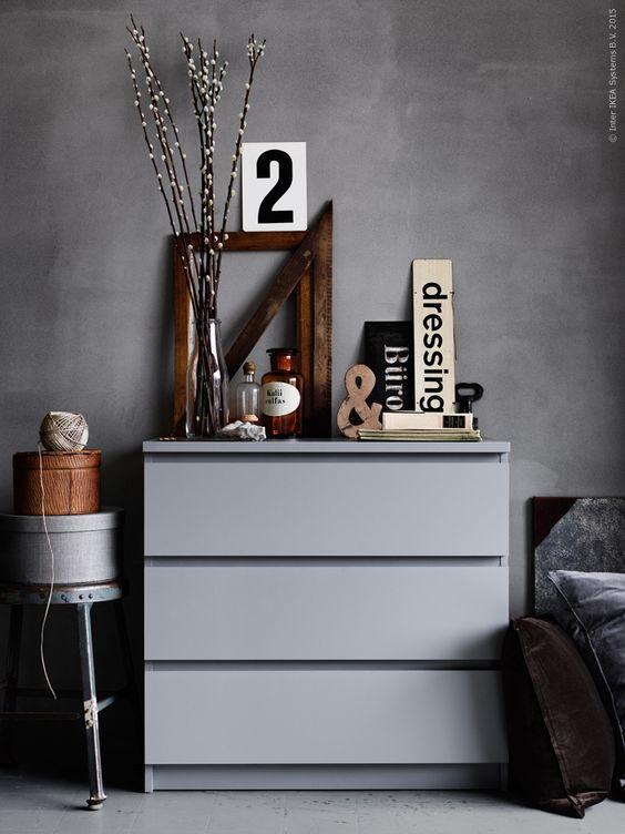 Cassettiere Malm Di Ikea.Malm Ikea Cassettiera Di Design Vogliacasa