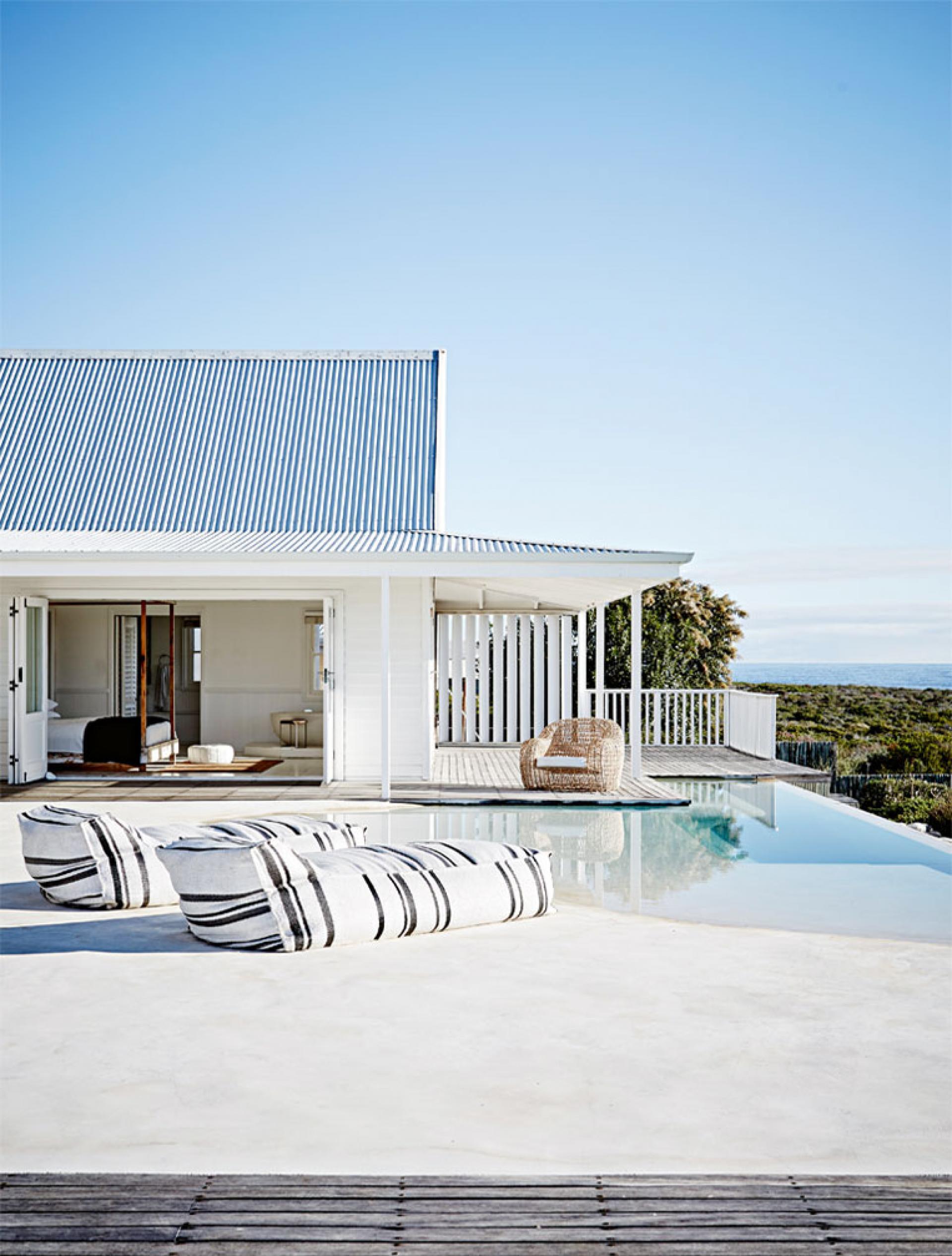 Una casa in riva al mare...