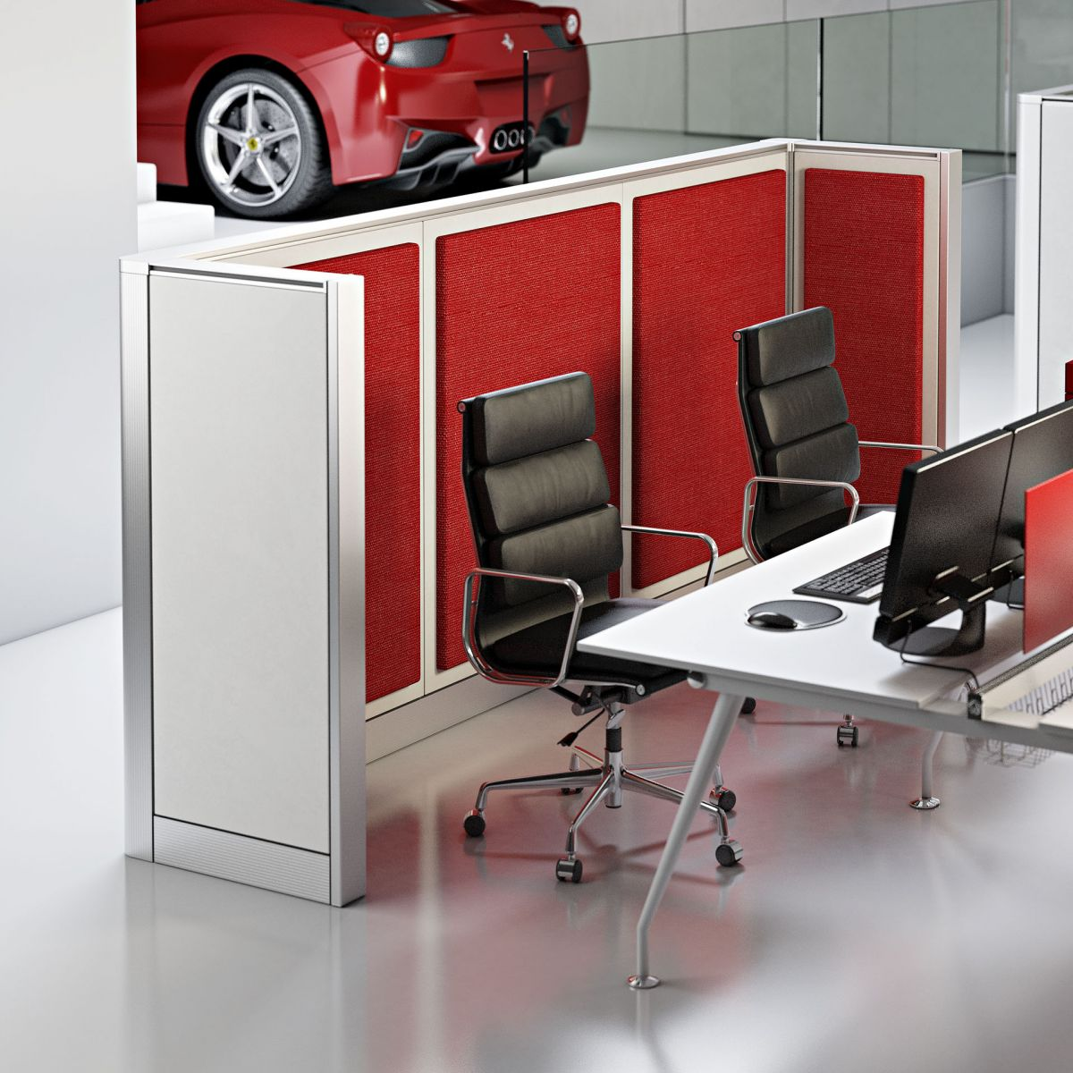 WALL SYSTEM - OPEN SPACE di ARCADIA UFFICIO