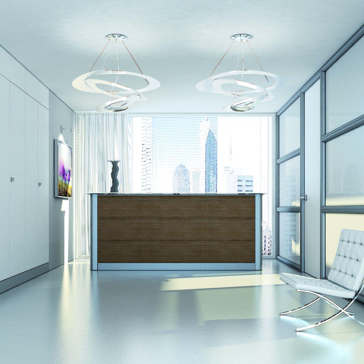 Brillanti soluzioni per uno spazio fondamentale in un luogo di lavoro: la reception!